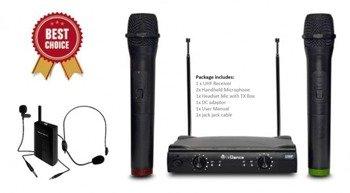 Vocal 258 - trzy mikrofony bezprzewodowe