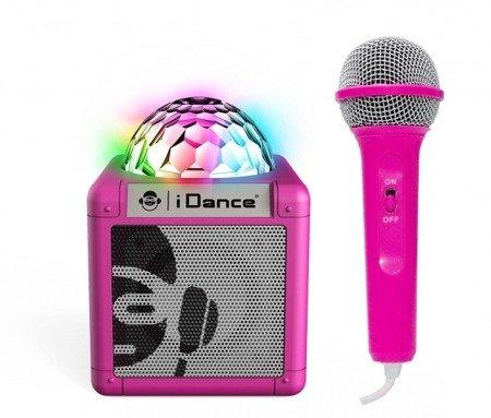 Cube Sing 100 - kostka disko 5W + mikrofon przewodowy