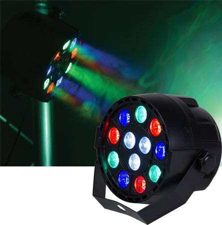 PAR 12 247 - oświetlenie LED RGBW
