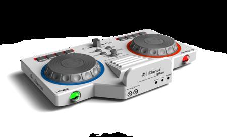 Party Box XD101 - konsola DJ + mikrofon przewodowy